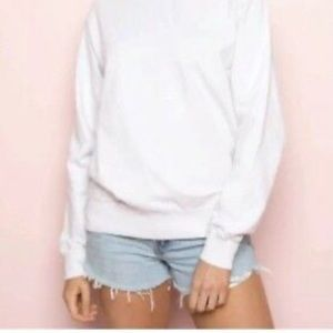 Brandy Melville cotton crew neck oversized